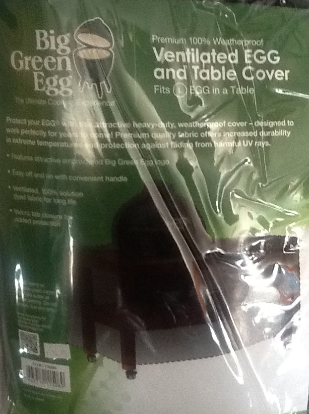 Big Green Egg 100 Weatherproof Ventilated And Table Cover L